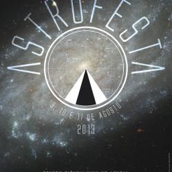 Cartaz Astrofesta 2013