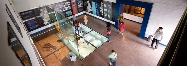 Imagem do interior do Centro Ciência Viva do Lousal